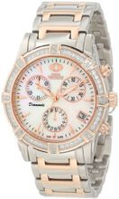 Swiss Precimax SP12081 Desire Elite Diamond Mother-Of-Pearl Dial