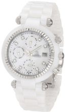 Swiss Precimax SP12122 Avant Ceramic SL Mother-Of-Pearl Dial White Ceramic Band