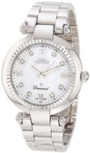 Swiss Precimax SP12133 Avant Diamond Mother-Of-Pearl Dial Silver Stainless Steel Band