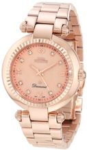 Swiss Precimax SP12136 Avant Diamond Mother-Of-Pearl Dial Rose-Gold Stainless Steel Band
