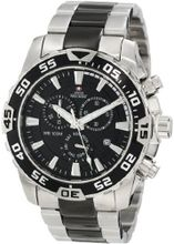 Swiss Precimax SP12149 Formula-7 Pro Black Dial with Two-Tone Stainless Steel Band