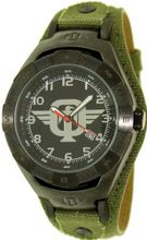 Tapout TKO TKO-BK Green Cloth Quartz with Black Dial