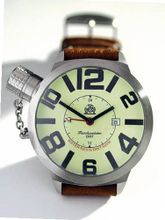 Tauchmeister T0066 XXL Dive GMT with Luminous Dial