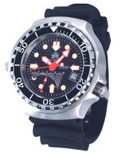 Tauchmeister T0077 XL Dive GMT with Helium Release Valve