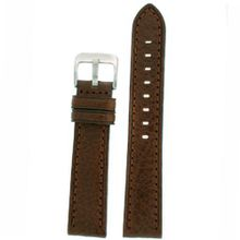 Band Dark Brown Genuine Leather 22 millimeter Tech Swiss