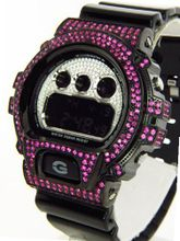 Casio G Shock 8.00ct Lab Made Diamond DW6900NB-1