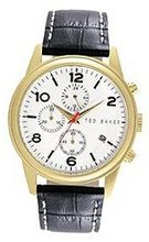 Ted Baker Round Dial Leather - Black #TE1123