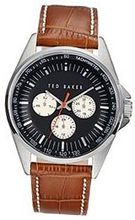 Ted Baker Round Dial Leather - Brown #TE1112