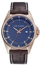 Ted Baker Round Dial Leather - Brown #TE1116