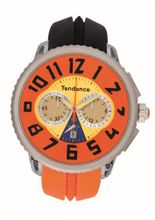 Tendence - Crazy Unisex Quartz with Multicolour Dial Analogue Display and Multicolour Plastic or PU Strap TO460409