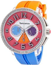 Tendence - Crazy Unisex Quartz with Multicolour Dial Analogue Display and Multicolour Plastic or PU Strap T0460407