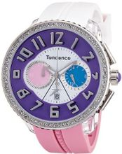 Tendence - Crazy Unisex Quartz with Multicolour Dial Analogue Display and Multicolour Plastic or PU Strap TO460405