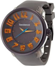 Tendence Fantasy 3H Unisex Quartz with Grey Dial Analogue Display and Grey Plastic or PU Strap T0630002