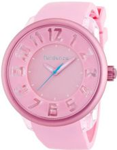 Tendence Fantasy 3H Unisex Quartz with Pink Dial Analogue Display and Pink Plastic or PU Strap T0630007