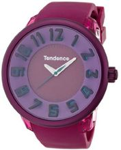 Tendence Fantasy 3H Unisex Quartz with Pink Dial Analogue Display and Pink Plastic or PU Strap T0630008