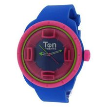 TENDENCE - Ten Beats 3H Elecro Blue Dial and Pink - BF130202