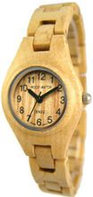 Tense Solid Light Maple Wood Hypo-Allergenic Bracelet L7509M
