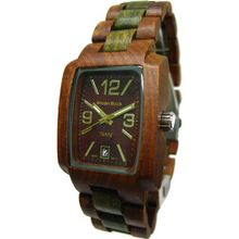 Timber Wood w/ Case & Automatic Clasp