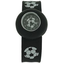 Kids - Boys - Girls Analogue Black & White Football Slap On Sports