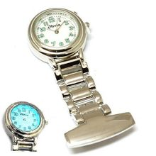 The Olivia Collection Backlight White Dial Nurses Fob TOC01