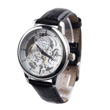 Time100 Apparent Space Full-automatical Skeleton Silver Dial Mechanical #W60006G.03A