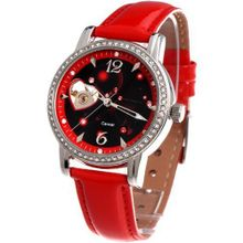 Time100 Constellation-series-Cancer Genuine Leather Strap Automatic Mechanical Ladies #W80050L.04A