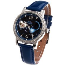 Time100 Constellation-series-Capricornus Genuine Leather Strap Automatic Mechanical Ladies #W80050L.10A