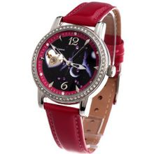 Time100 Constellation-series-Gemini Genuine Leather Strap Automatic Mechanical Ladies #W80050L.03A