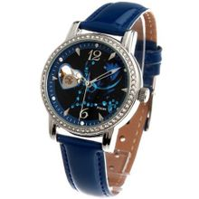 Time100 Constellation-series-Pisces Genuine Leather Strap Automatic Mechanical Ladies #W80050L.12A