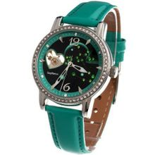 Time100 Constellation-series-Sagittarius Genuine Leather Strap Automatic Mechanical Ladies #W80050L.09A