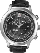 Timex Intelligent Quartz T2N609 PREMIUM IQ Black World Time