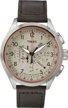 Timex Intelligent Quartz T2P275 Cream Brown Linear Chronograph