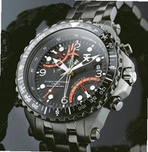 Timex TX TX 730 Fly-back Chronograph Compass Second Time Zone