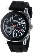 Tocs 40111 Analog Round Midnight Black