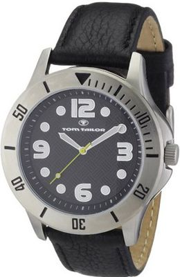 Tom Tailor Quartz 5407201 with Leather Strap