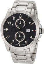 Tommy Hilfiger 1710296 Classic Stainless Steel Black Sub dial