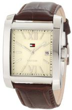 Tommy Hilfiger 1710318 Classic Tank Roman Numeral Enamel Dial