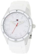 Tommy Hilfiger 1781058 Sport White Silicon with White Bezel and White Textured Dial