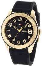 Tommy Hilfiger 1781120 Sport Gold Toned Black silicone