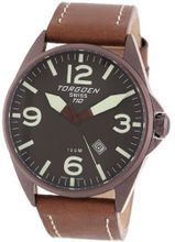 Torgoen Swiss Brown Ion-Plated 3-Hand Stainless Steel #T10103