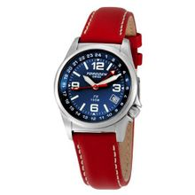 Torgoen Swiss T05502 Zulu Time Leather Strap