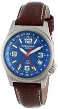 Torgoen Swiss T05504 Zulu Time Leather Strap
