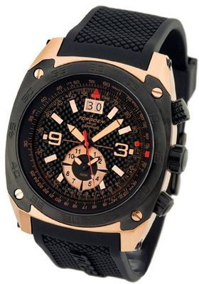 Torgoen Swiss T07101 T7 Limited Edition Carbon Fiber Rose Gold
