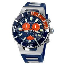 Torgoen Analog Quartz with Blue Dial and Rubber Strap - T24303