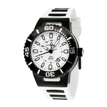 Torgoen Analog Quartz with White Dial and Rubber Strap - T23304