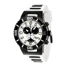 Torgoen Analog Quartz with White Dial and Rubber Strap - T24304