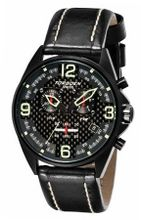 Torgoen Aviator Analog Quartz Chronograph T18102 With Leather Strap