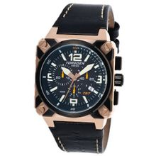 Torgoen Aviator Analogue Quartz Chronograph T27105 With Leather Strap