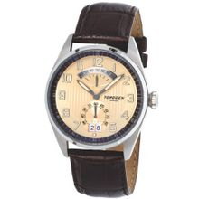 Torgoen Aviator Quartz Analogue T29102 With Leather Strap