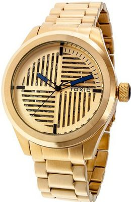 Toxic Edge TX70380-A with Gold Stainless Steel Band